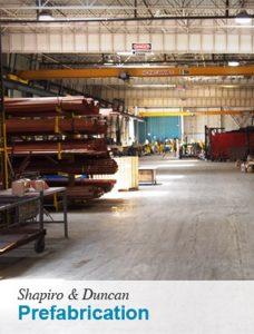Shapiro & Duncan - Shop Floor